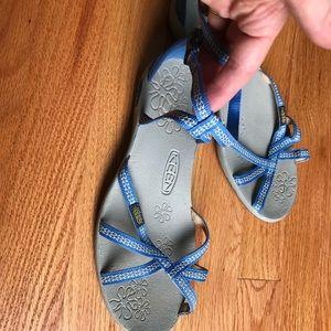 Light blue Keen sandals
